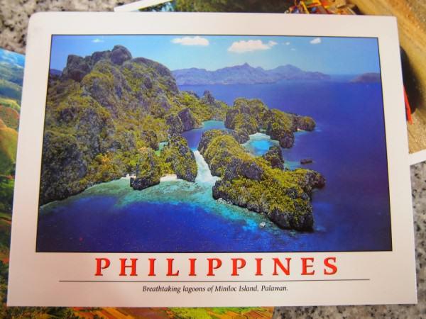 Kartu Pos DuaRansel 33 - El Nido Filipina - Yulianti Amelia