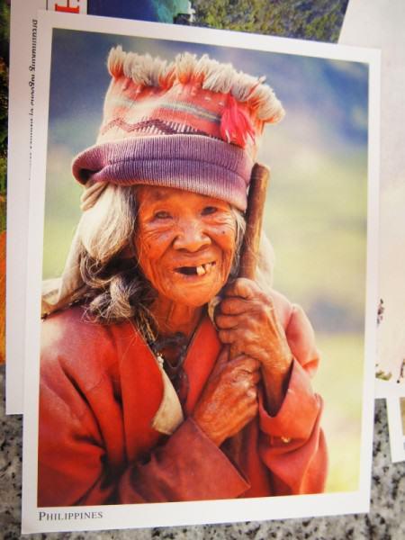 Kartu Pos DuaRansel 35 - Tribe Filipina - Parama Gandi