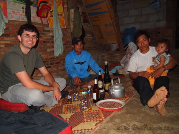 Laos - Hua Phan - BeerLao and LaoLao time