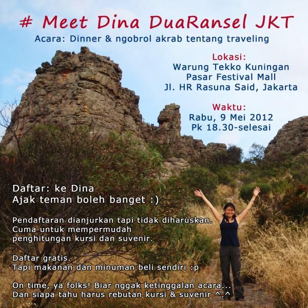 Meet Dina DuaRansel Jakarta - 9 Mei 2012
