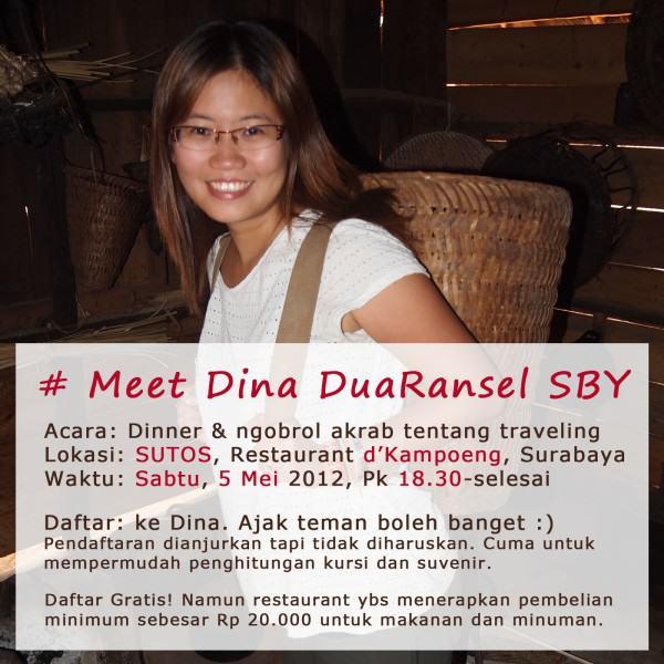 Meet Dina DuaRansel Surabaya - 5 Mei 2012