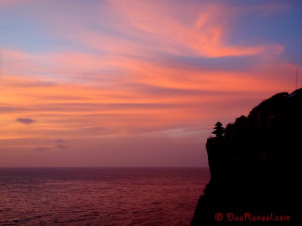 Indonesia - Bali - Uluwatu sunset