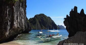 Kartu Pos DuaRansel 2012 Mei - El Nido Filipina 1600x900