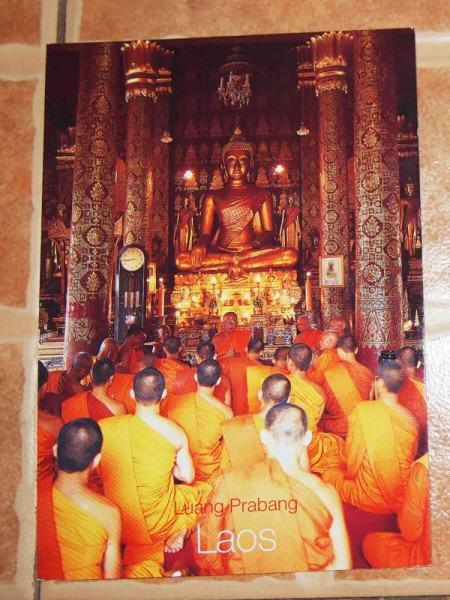 KartuPos DuaRansel 45 - Laos Luang Prabang novice monks