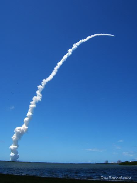 USA - NASA shuttle launch in Florida
