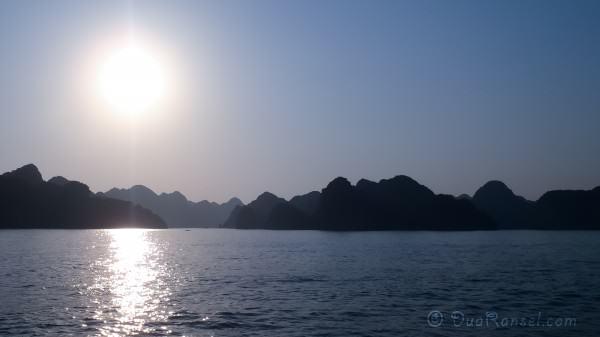 Matahari hampir tenggelam