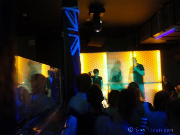 Australia - Sydney - A party in a hostel bar