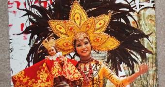 Kartu Pos DuaRansel 73 - Sinulog Festival, Cebu, Philippines