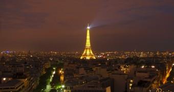 Kartu Pos DuaRansel 78-81: Eiffel Tower