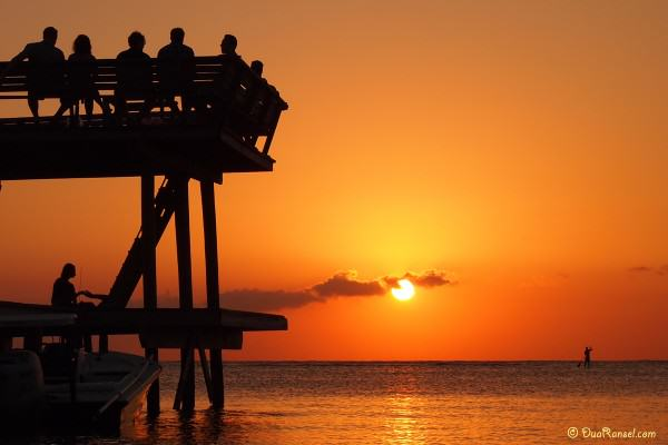 Honduras - Roatan - sunset
