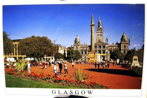 Kartu Pos DuaRansel 106: Glasgow Scotland!