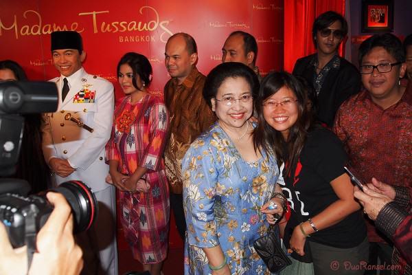 Madame Tussauds Bangkok - Soekarno - Bersama Bu Megawati