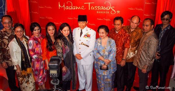 Madame Tussauds Bangkok - Soekarno - Keluarga