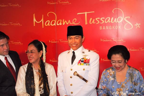 Madame Tussauds Bangkok - Soekarno - Megawati - Sukmawati