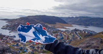 Kartu Pos DuaRansel 109 - Gunung Es Greenland