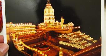 Kartu Pos DuaRansel 115 - Kek Lok Si Temple Penang Malaysia