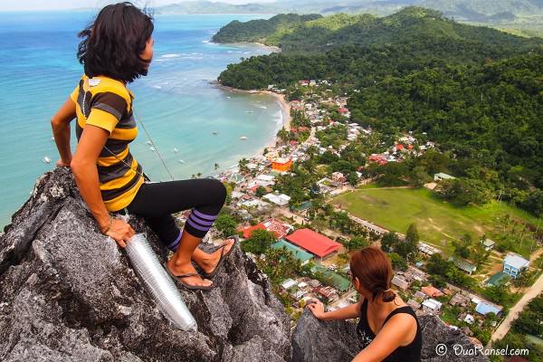 Philippines - El Nido - Taraw cliff climbing - Dina Isabel