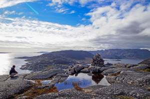 Greenland - Ryan - Blue sky sea lake pool