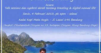 #2RanselBandung | Kedai Kopi Mata Angin | 4 Feb 2013 | 6 pm