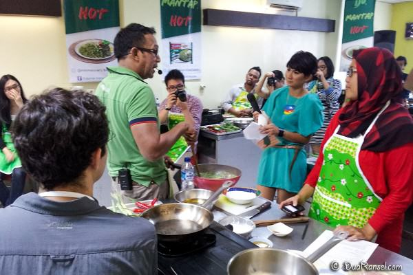 Suasana kelas masak