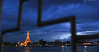 Wat Arun and Chao Phraya River, Bangkok