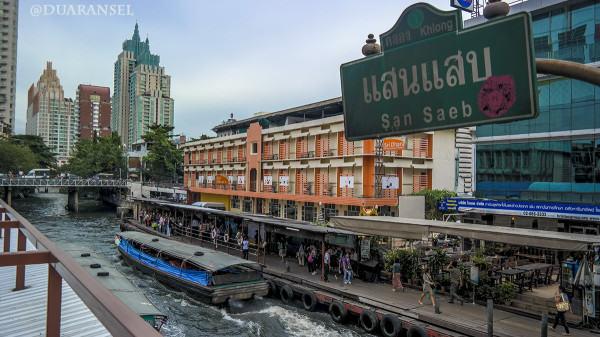 San Saeb boat, khlong, Bangkok
