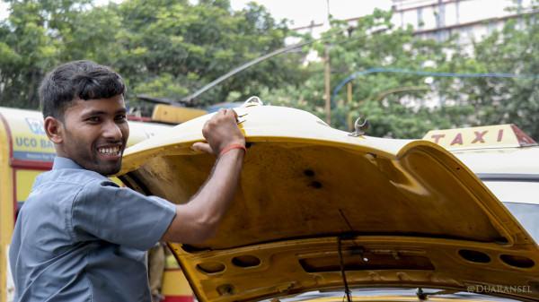 Taxi driver, Kolkata