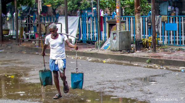 Clean water? Kolkata