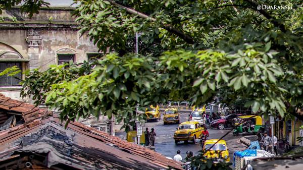 Kolkata yellow cabs