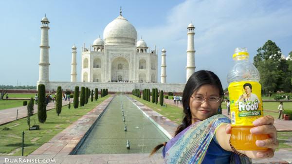 Shah Rukh Khan SRK Frooti - Taj Mahal
