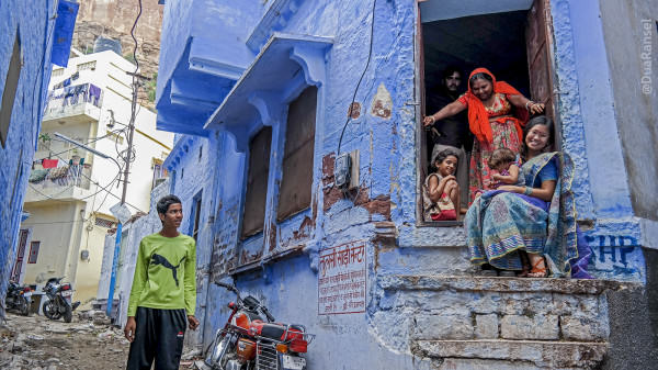 Jodhpur - masuk rumah orang