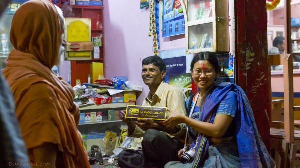 India Varanasi - Indonesian product 1 J 1600 2R