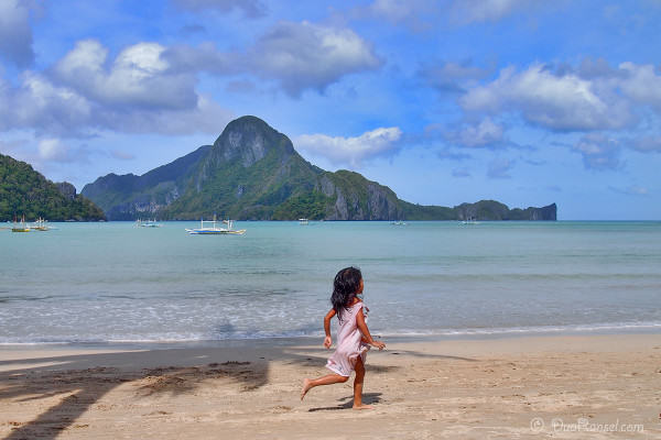 Cadlao Island | As seen from El Nido Town