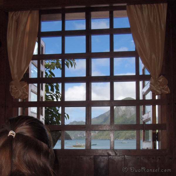 View from Entalula Hotel, El Nido