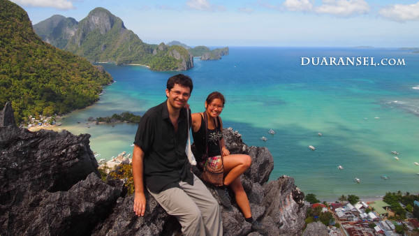 View from Taraw Cliff Top: Cadlao Island | El Nido