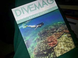 DuaRansel in DiveMag cover - Natuna