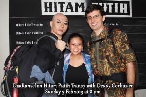 DuaRansel bersama Deddy Corbuzier di Talkshow Hitam Putih - Trans7