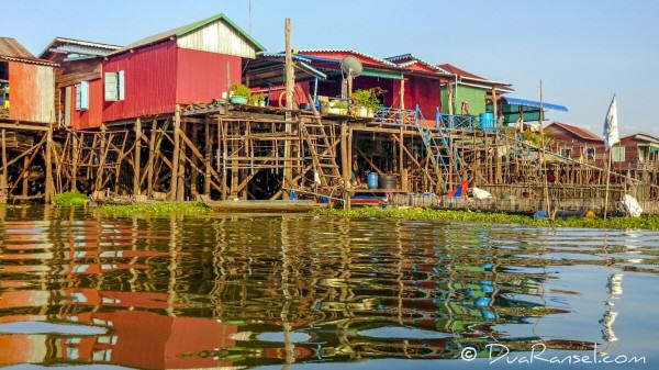 Kampong Khleang floating village | Xperia Z1