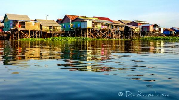 Kampong Khleang floating village | Xperia Z1