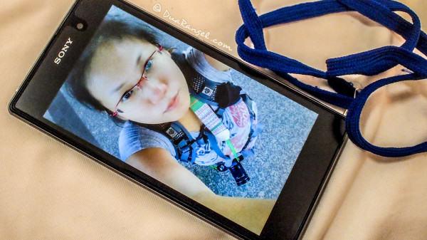 Sony's XperiaZ1 smartphone