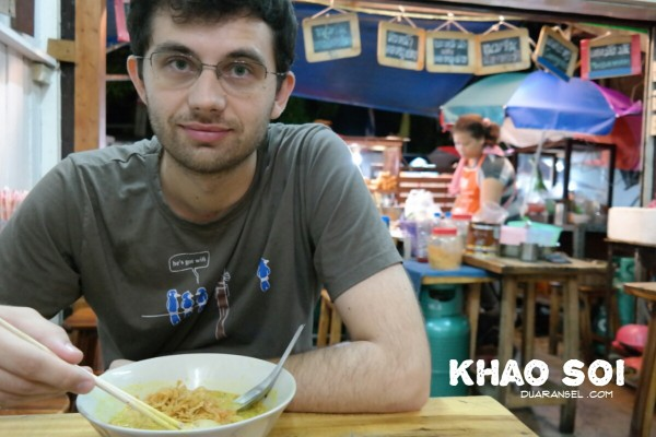 Ryan and khao soi