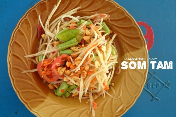 Must try Thai salad: Som tam