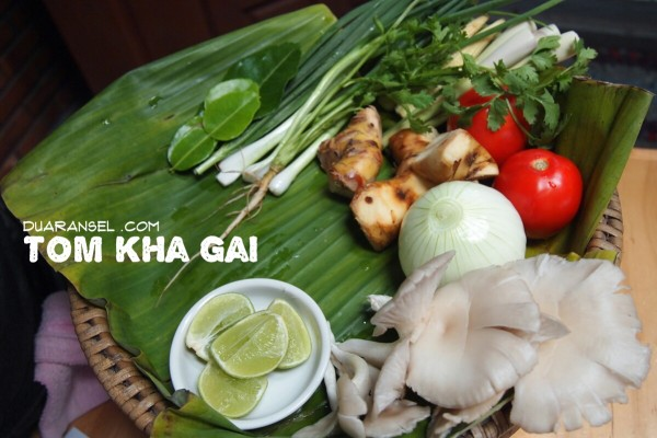 Tom kha gai - Thai chicken coconut soup