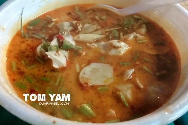 Tom yam kung - Thai shrimp sour and spicy soup